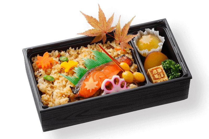 秋鮭西京焼き弁当