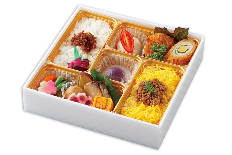 彩り折箱~桜~
