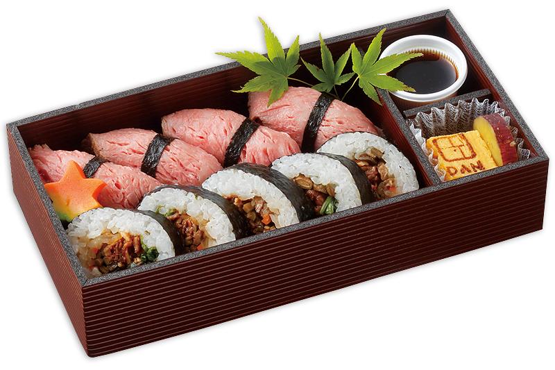 肉寿司&肉巻き寿司弁当
