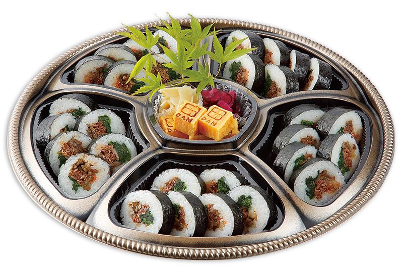 肉巻き寿司盛り合わせ